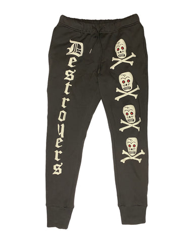 Camp Destroyer Field Sweatpants - Faded Black