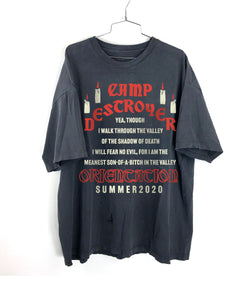 Camp Destroyer ORIENTATION T-shirt