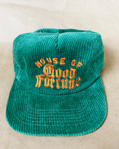 HOUSE OF GOOD FORTUNE CORDUROY SNAPBACK