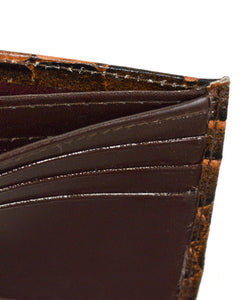 Bi-Fold Genuine Leather Wallet