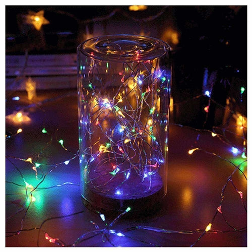 AMZER Fairy String Light 50 LED 5m Waterproof AA Battery Operated