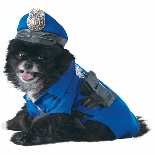 Police Officer Pet Costume