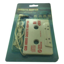 Load image into Gallery viewer, Car Cassette Tape Deck Adapter Compatible 3.5mm Jack Audio MP3/CD