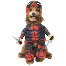 Load image into Gallery viewer, Deadpool Pet Costume