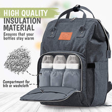 Load image into Gallery viewer, Original Diaper Backpack (Mystic Gray)