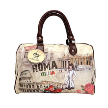 Load image into Gallery viewer, OH Fashion Handbag Satchel Adventurous Marie PU