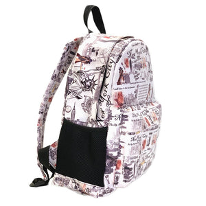 OH Fashion BackPack Travelling New York