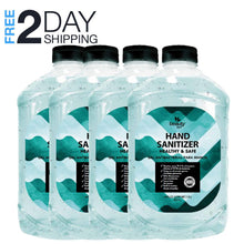 Load image into Gallery viewer, FDA Approved Hand Sanitizer Half a Gallon Pack of 4 (256 oz)
