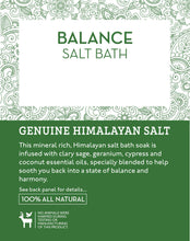 Load image into Gallery viewer, Salt Skill - Natural Himalayan Soaking Bath Salts Balance 32 OZ
