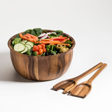Load image into Gallery viewer, Soro Large Salad Bowl with Servers