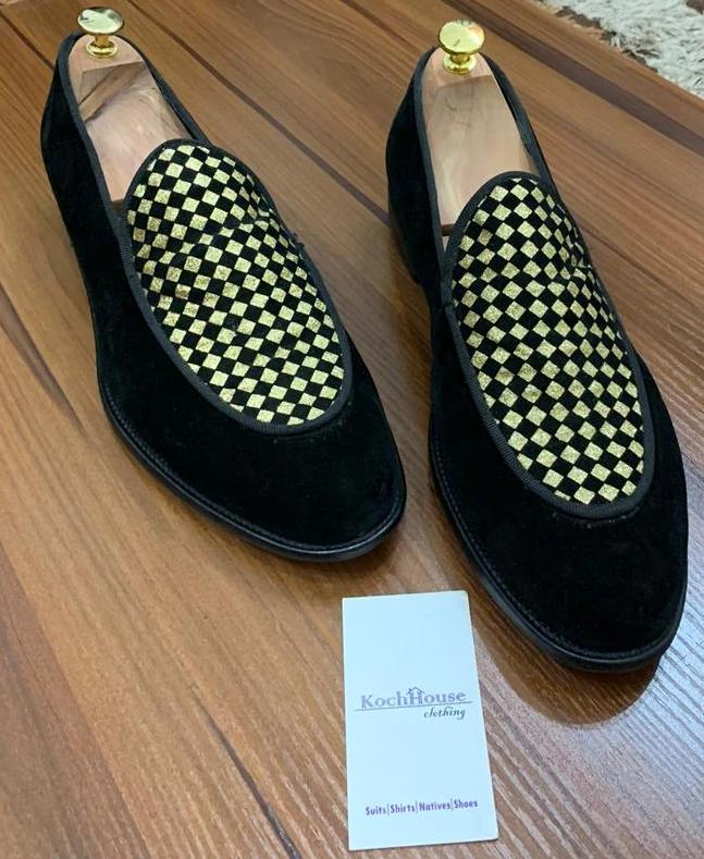 Gold Draft Belgian Loafers - KochHouse