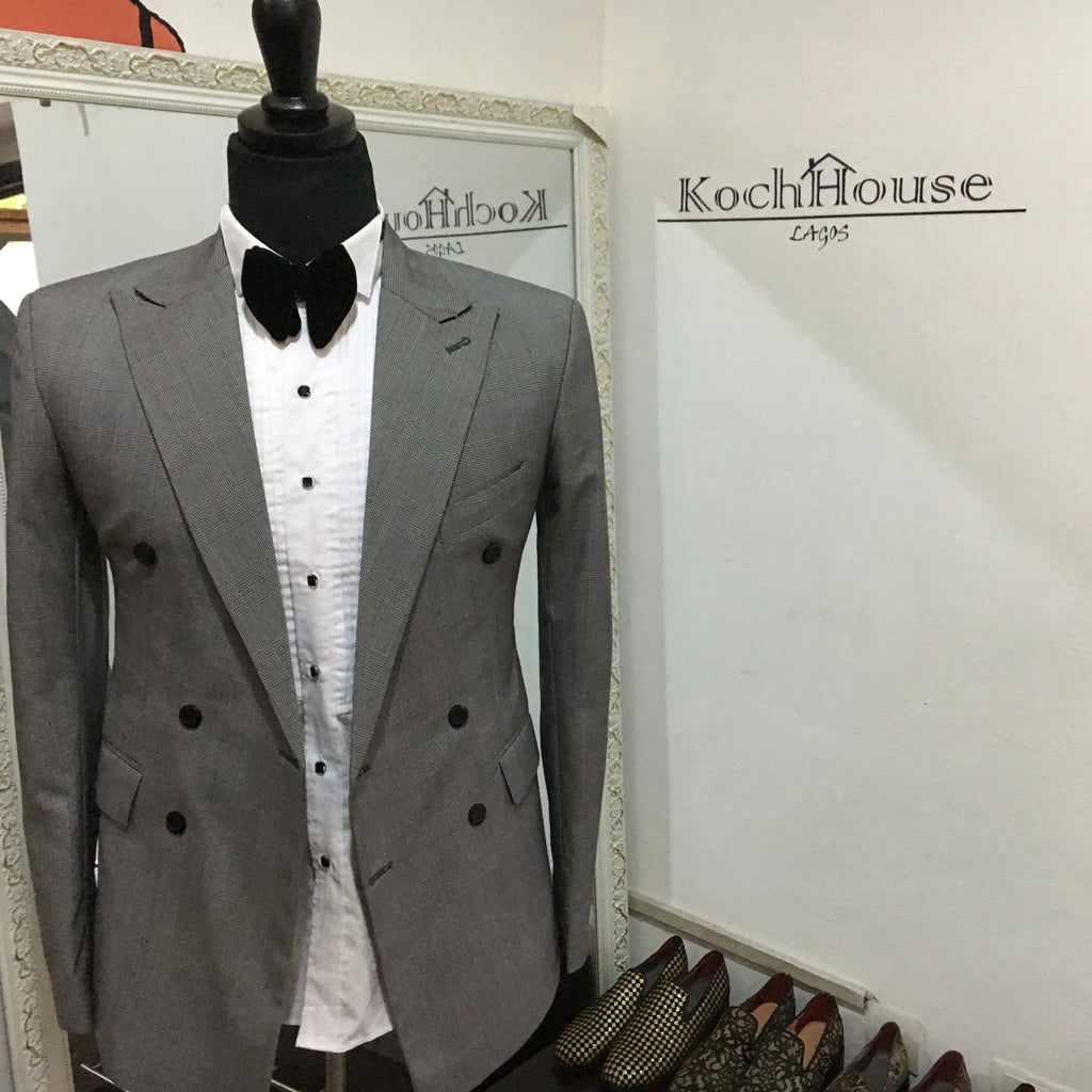 Koch Grey - Double Breasted Suit | KochHouse