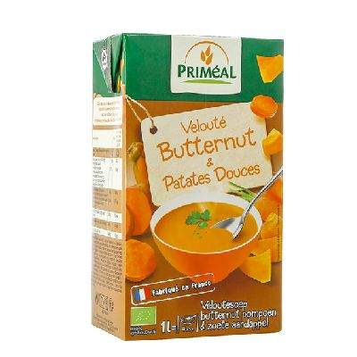 Veloute Butternut Patate Douce