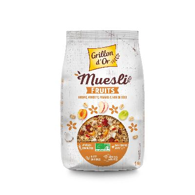 Muesli  Familial Fruits Kg Grillon Or