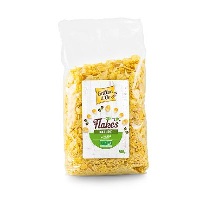 Corn Flakes Nature 500g Grillon Or