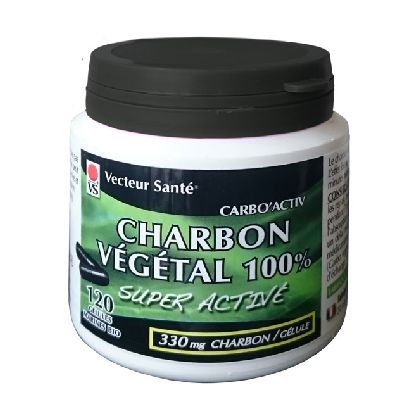 Carbo'activ Charbon 100% 120 Gel