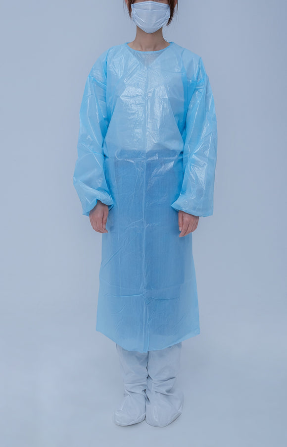 PP non-woven isolation gown Level 1