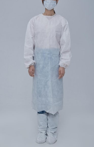 PP non-woven isolation gown Level 2