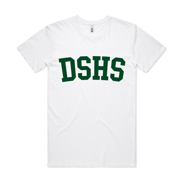 DSHS Lockdown White T-Shirt