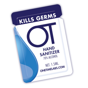 Single Use Hand Sanitizer Gel Packs (100 packets)