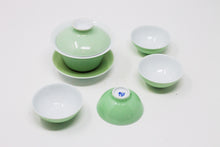Load image into Gallery viewer, Thin Porcelain Gaiwan Set, various colours