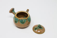 Load image into Gallery viewer, Antique Agano Yaki Teaset with wooden box