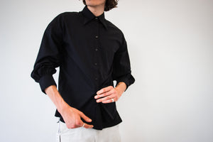 ANMO x Injury - Cresent Collar Shirt