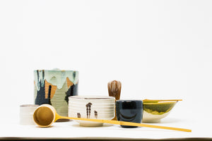 Shino, Oribe and Kiyomizu Matcha Set