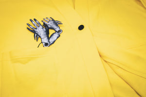 "Lemon Haori - ANMO x Injury - ""Stay at home Capsule Collection"""
