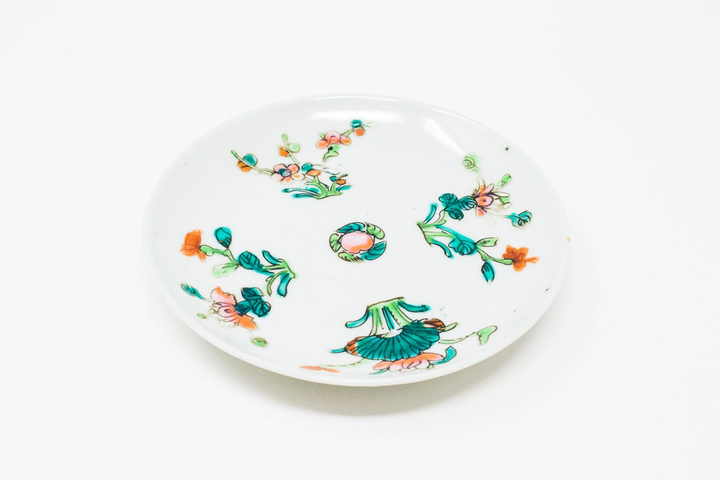 Late Qing / early RoC small plate / tea boat