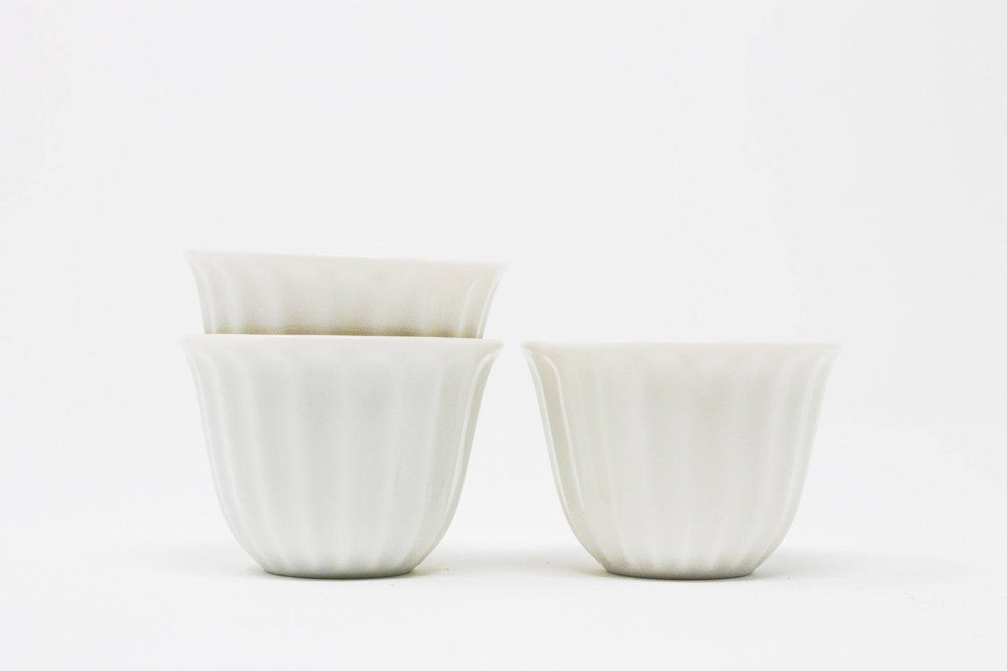 japanese white porcelain beginner cups