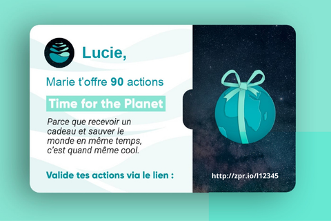 Time For the planet cadeau