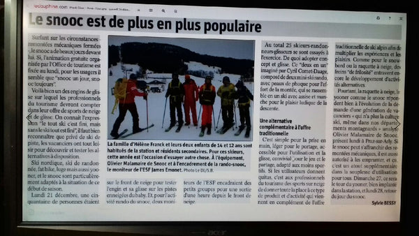 SNOOC Article Dauphiné