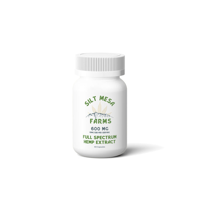 SMF 600mg Full Spectrum Capsules