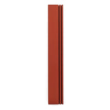 Rail Mezuzah Multicolor for 7 ch parchment