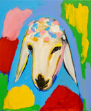 Menashe Kadishman, Sheep (T4507)