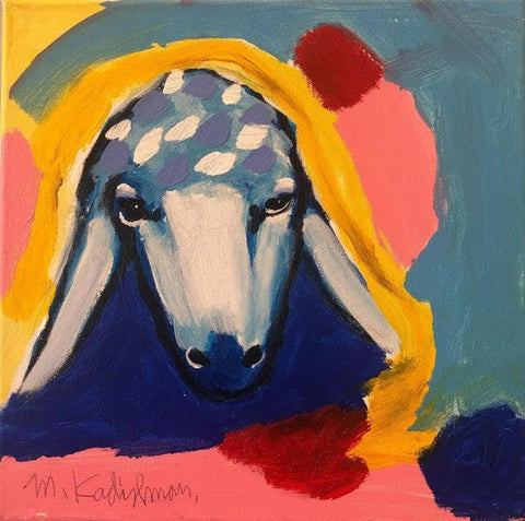 Menashe Kadishman, Sheep (T4578)