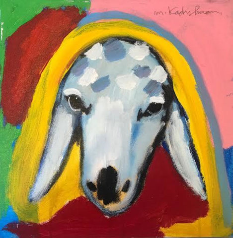Menashe Kadishman, Sheep (T4459)