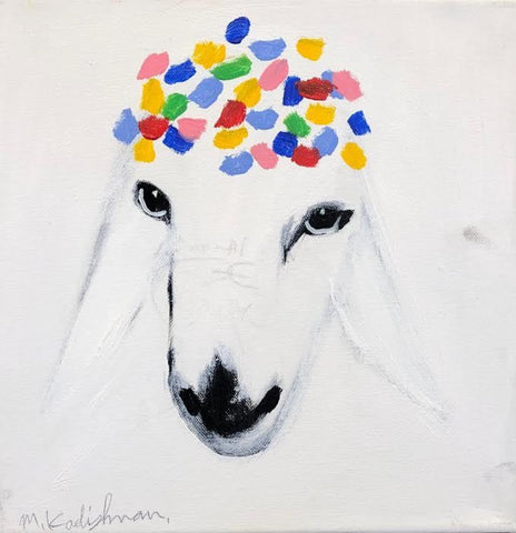 Menashe Kadishman, Sheep (T4651)