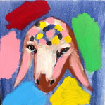 Menashe Kadishman, Sheep (T4647)