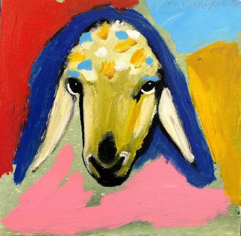 Menashe Kadishman, Sheep (T4646)