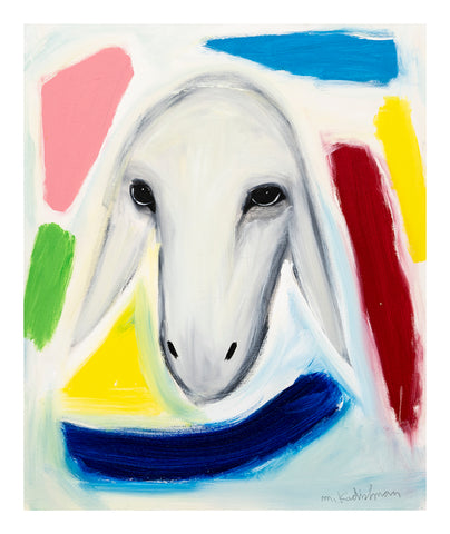 Menashe Kadishman, Sheep (T4508)
