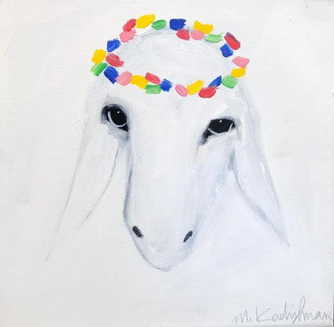 Menashe Kadishman, Sheep (T4660)