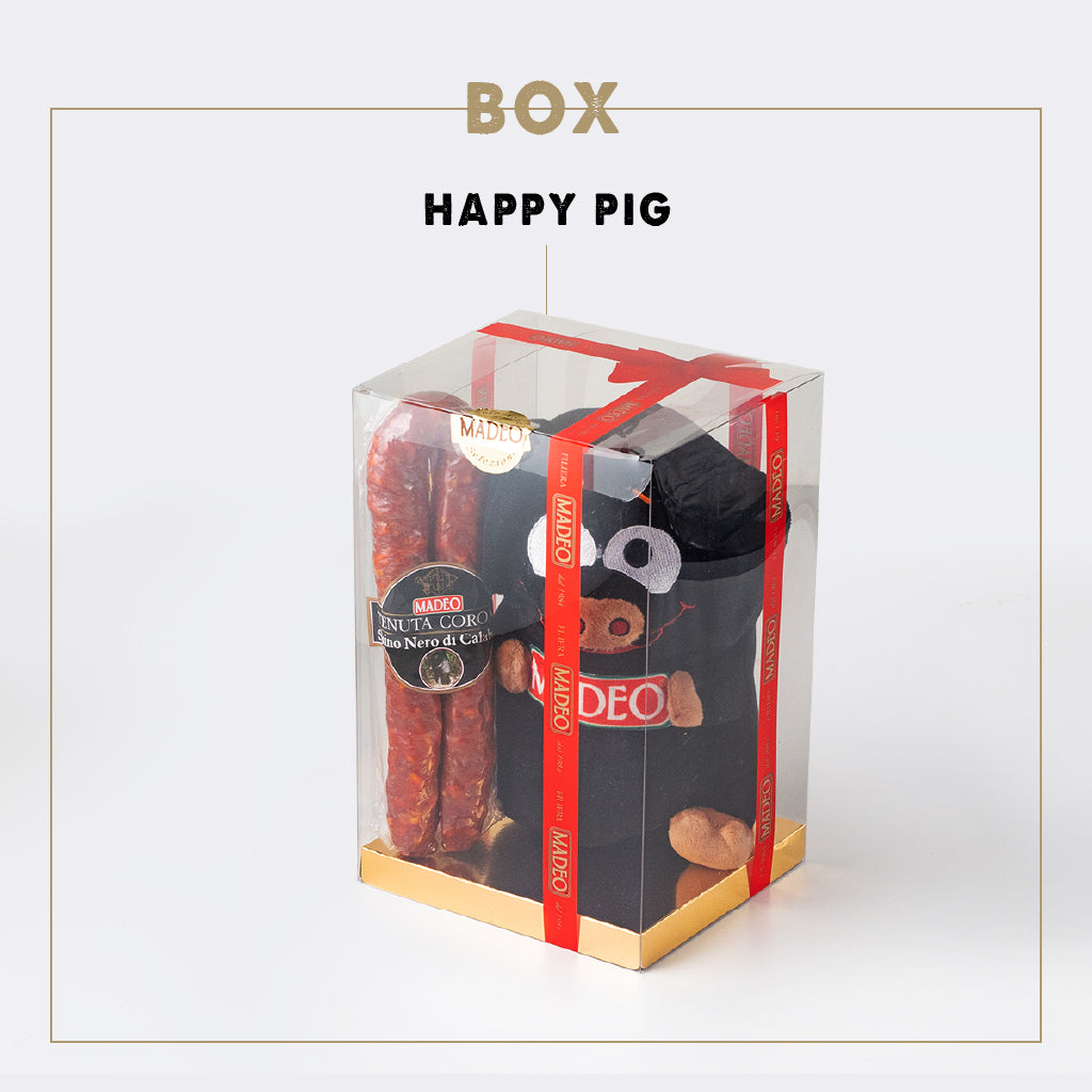 BOX HAPPY PIG
