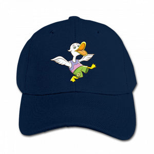 Happy Duck Customized Kids Solid Color Cool Adjustable Baseball Cap