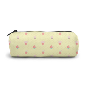 Elegant Zipper Pen Case,Glasses Case,Cosmetic Case,Easy to Carry,Both Men and Women,Small Cake