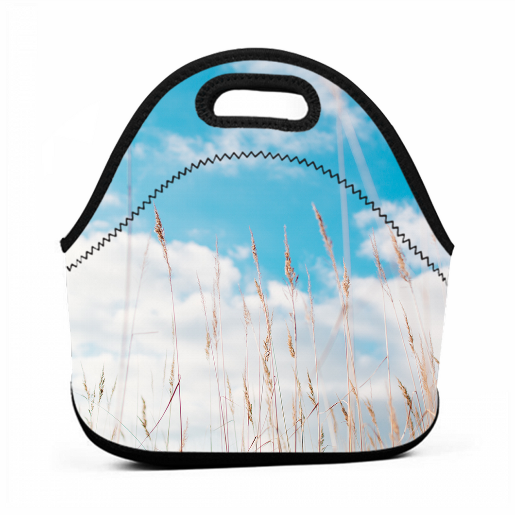 Dog Tail Grass Fresh-keeping Shopping Bag Lunch Bag Heat Preservation Lunch Bag Go To Work School Food Bag