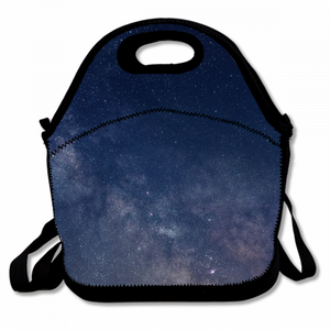 The Mysterious Sky Unisex Lunch Bag With Detachable Zippered Shoulder Bag