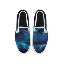 Load image into Gallery viewer, Womens Mens Sneaker Canvas Loafers,Flat Shoes,Unisex Art Sneaker,A Sky Full Of Stars