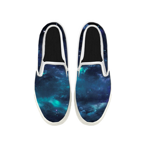 Womens Mens Sneaker Canvas Loafers,Flat Shoes,Unisex Art Sneaker,A Sky Full Of Stars